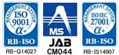 ISO9001 ISO27001